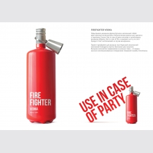 FIREFIGHTER VODKA